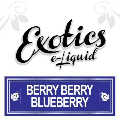 Berry Berry Blueberry e-Liquid